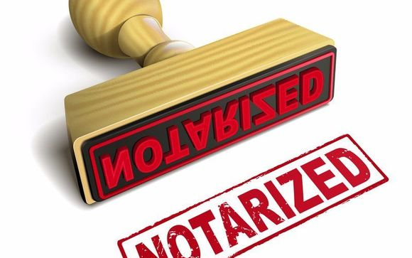 notarized